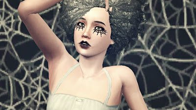 Spiderweb Makeup от Talina
