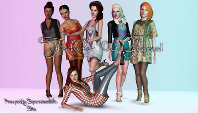 New Poses by Supersensualistic Sims