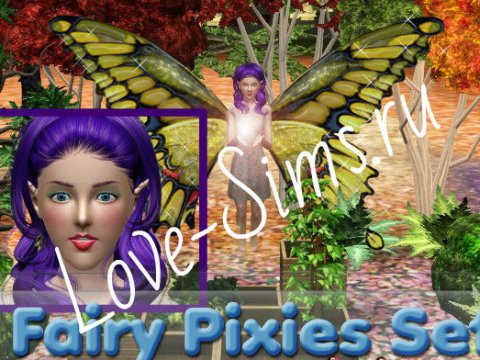 Fairy Pixies Set by tsminh_3