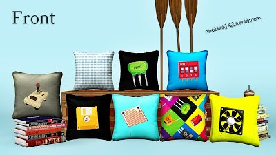 Electro Geeks pillows от Theblue142