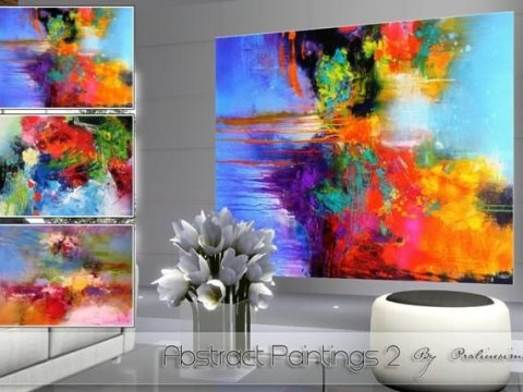 Abstract Paintings от Pralinesims