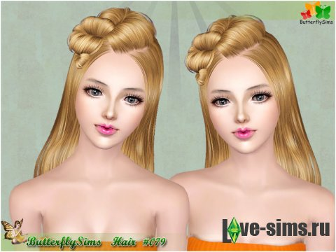 Hairstyle079 by Butterflysims