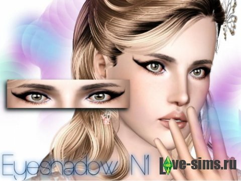 Тени Eyeshadow N1 от Stefan0412