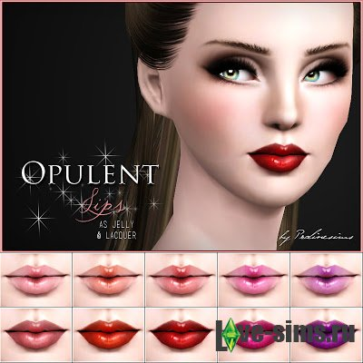 Opulent Lips by Pralinesims