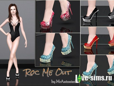Туфли Roc Me Out Shoes + шипы