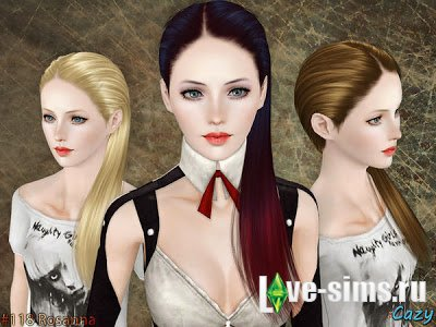 Rosanna Hairstyle - Set by Cazy
