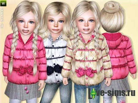 Baby Girl Soft Jacket by lillka