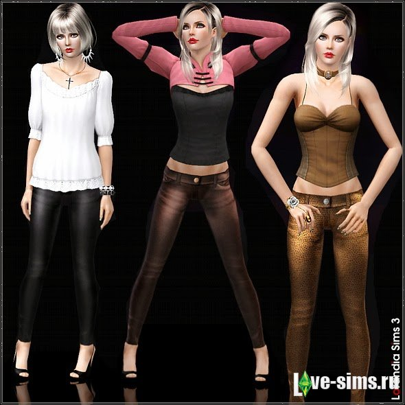 Skinny Leather Pants for Females by Lore