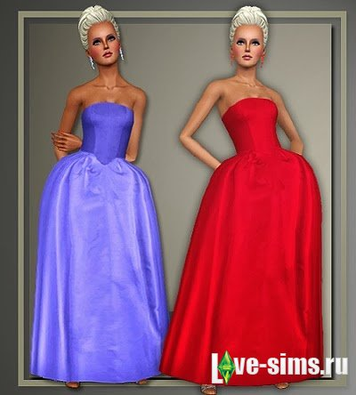 Designer Holiday Gowns by Judie