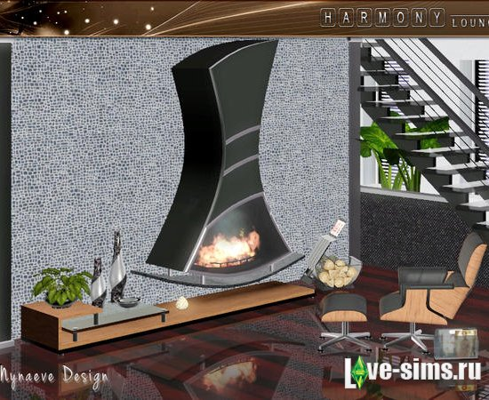 Мебель Harmony Lounge от NynaeveDesign