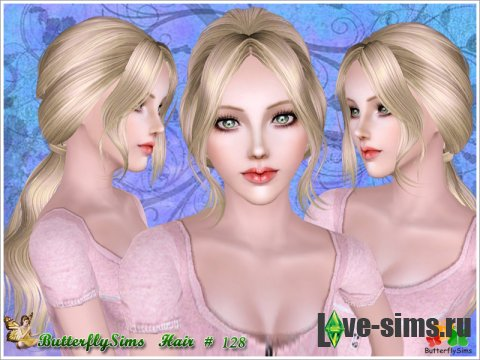 Hairstyle 128 by ButterflySims