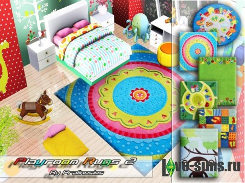 Playroom Rugs 2 от Pralinesims