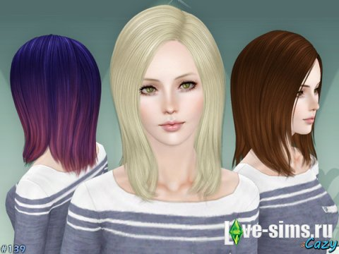 Hairstyle Set by Cazy