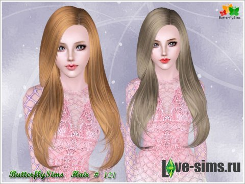 Hairstyle 121 by ButterflySims