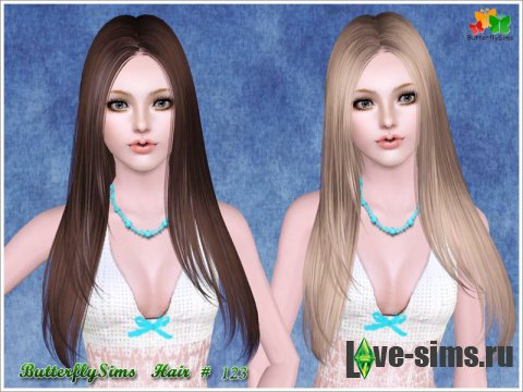 Hairstyle 123 by ButterflySims