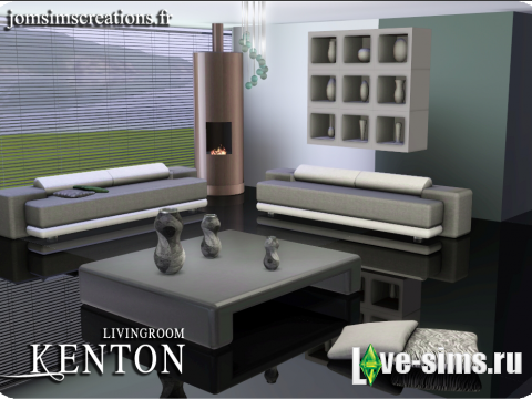 Kenton Living Set by JomSims