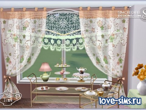 Tea Time Set by Simcredible Designs