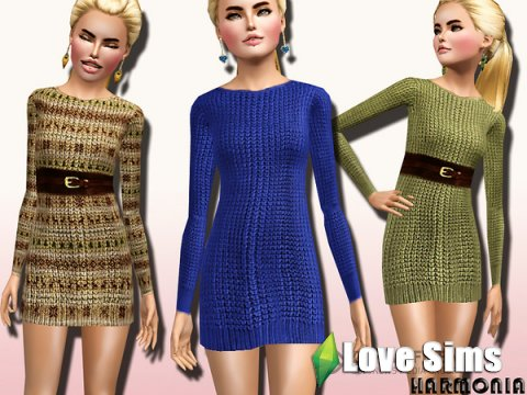 Dress Long Sleeve by Harmonia