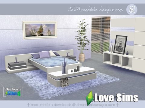 Спальня sims 4 - SIMcredible