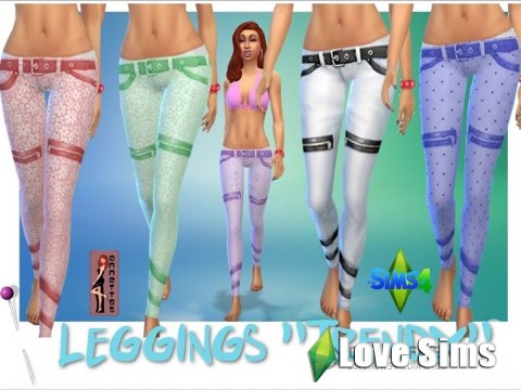 Trendy leggings by Annett85
