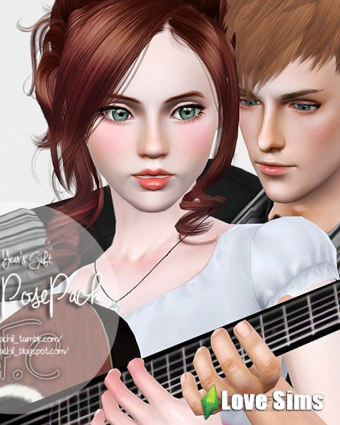 Guitar Couple Pose Pack by Fyachii
