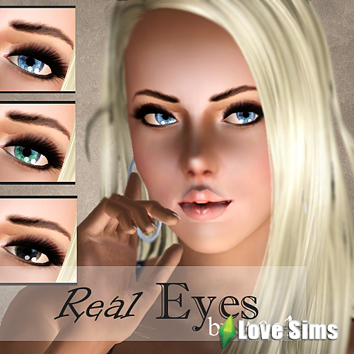 Real Eyes by Ice1