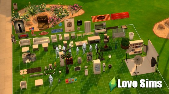 The sims 4 Карьера