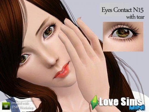 Eyes Contact N15 with tear от MINISZ