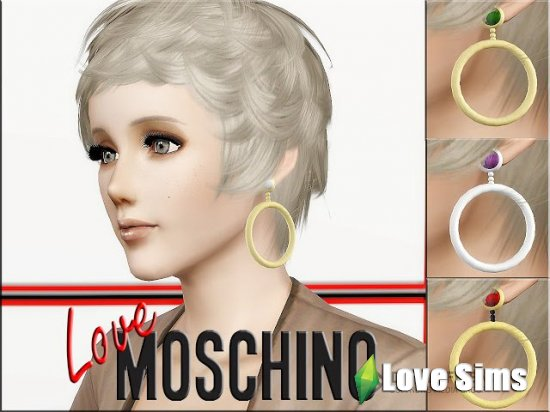 Moschino Runway Earrings от MrAntonieddu