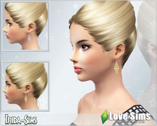 Earrings 06 от Irida-Sims