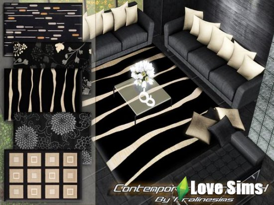 Contemporary Carpets 4 от Pralinesims