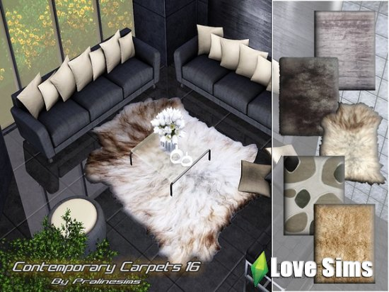 Contemporary Carpets 16 от Pralinesims