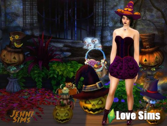 Halloween Decor от JenniSims