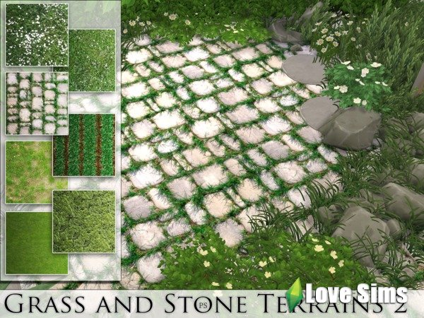 Grass and Stone Terrains 2 от Pralinesims