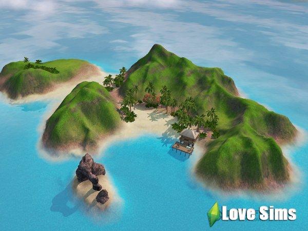 Как открыть острова в симс 3?