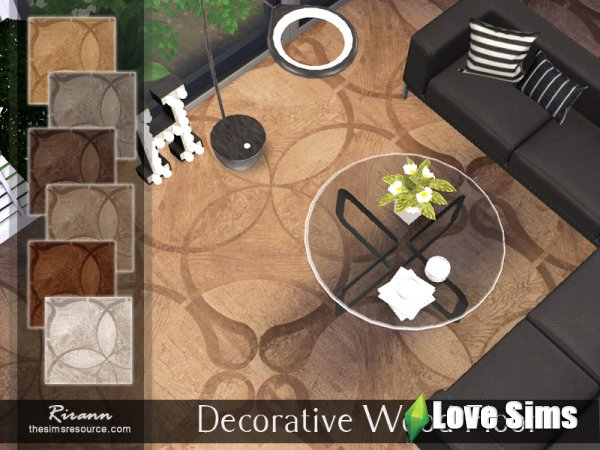 Decorative Wood Floor от Rirann