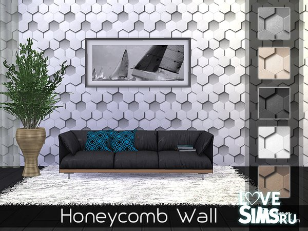 Обои Honeycomb Wall от Rirann