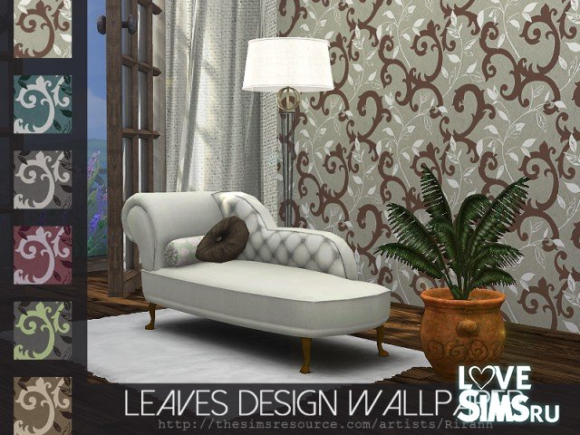 Обои Leaves Design от Rirann