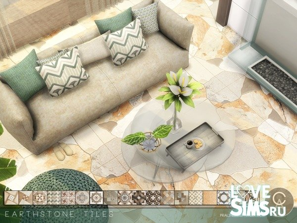 Плитка Earthstone Tiles от Pralinesims