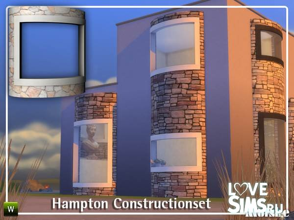 Окна Hampton Constructionset от mutske