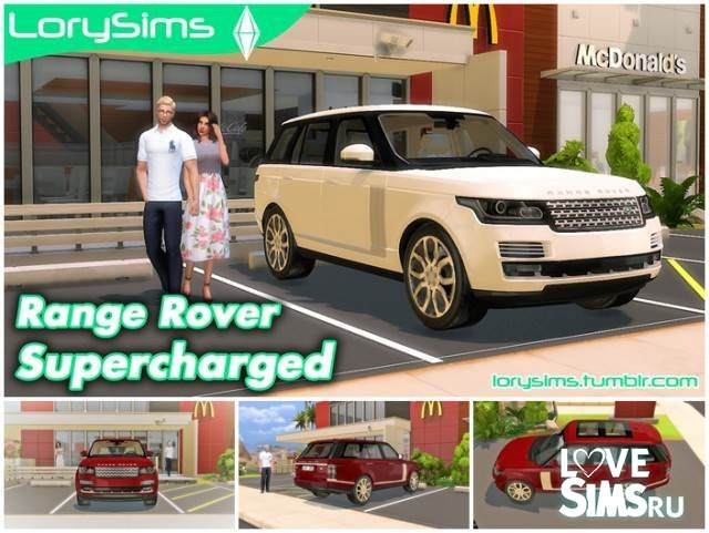 Range Rover Supercharged от LorySims
