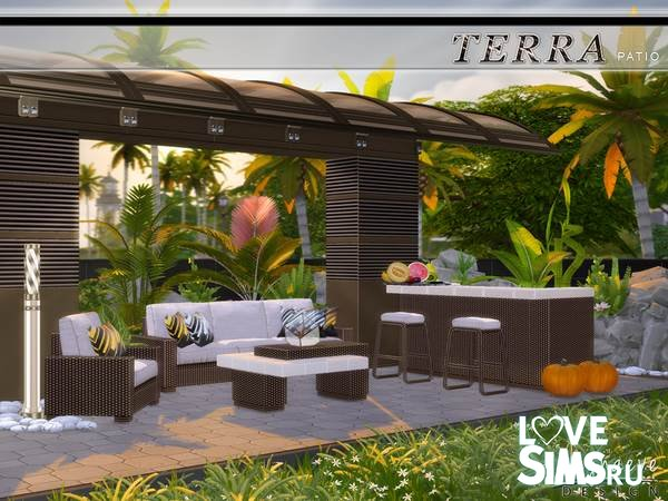 Мебель Terra Patio от NynaeveDesign