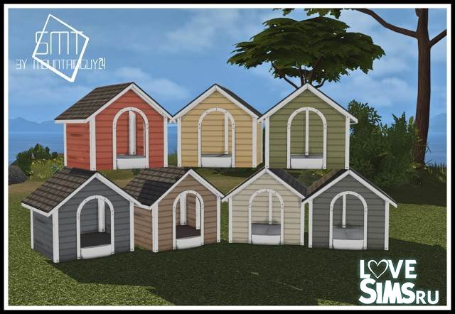 DOG HOUSE от Simsmoderntechnology