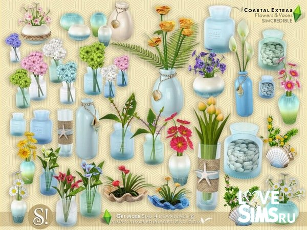 Flowers and Vases от SIMcredible