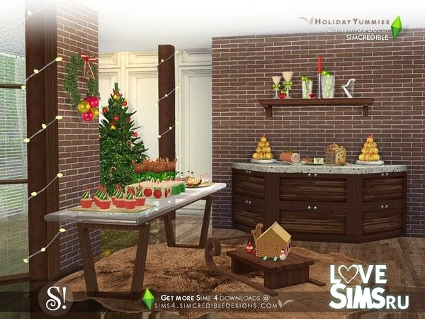 Декор Holiday Yummies decor only от SIMcredible