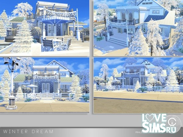 Дом Winter Dream от Pralinesims
