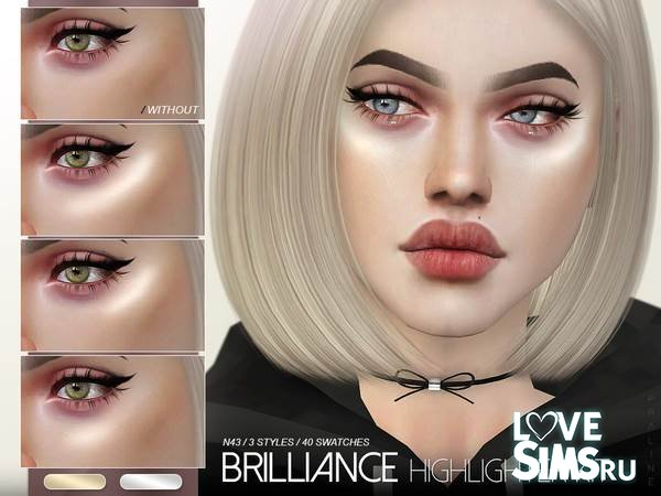 Хайлайтер Brilliance Kit N43 от Pralinesims
