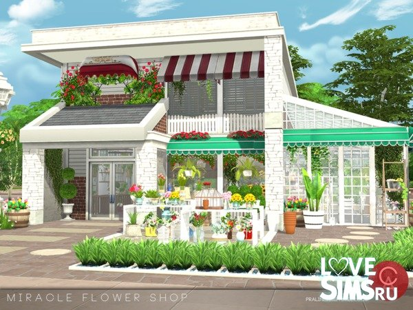 Miracle Flower Shop от Pralinesims