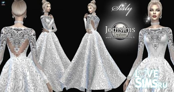 Платье Sisly wedding от JenniSims