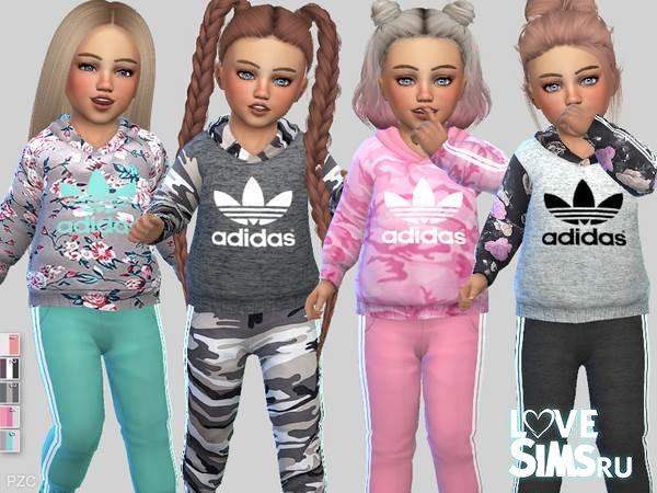 85c31134 Скачать костюм Adidas от Pinkzombiecupcakes к Симс 4